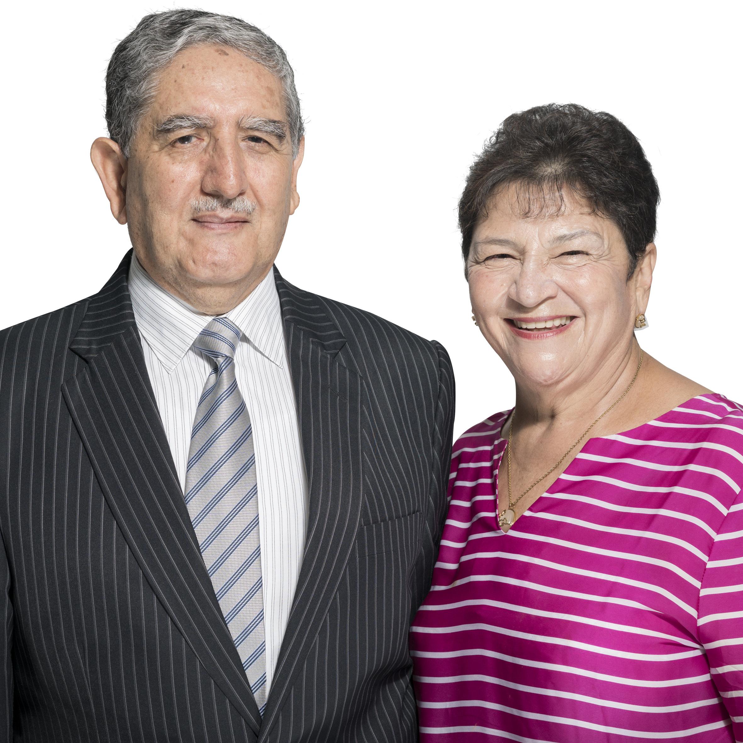 Alfonso y Bertha Mesa