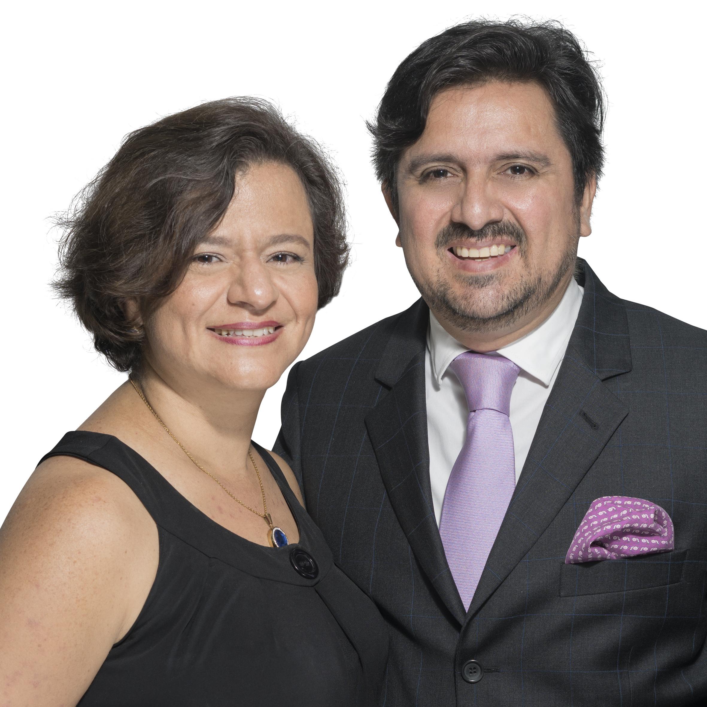 Luis Fernando y Claudia Arias