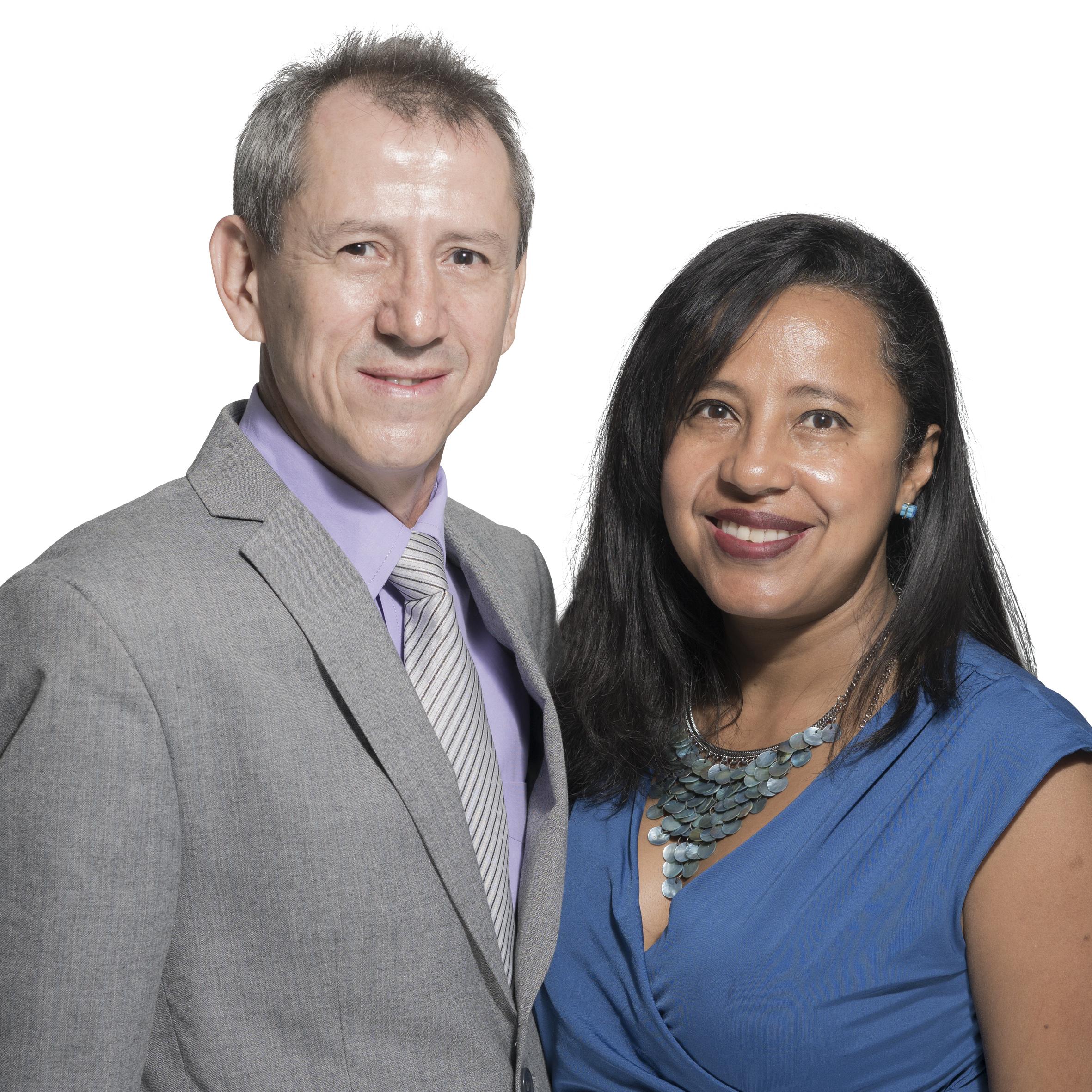 Darley y Pilar Castrillón