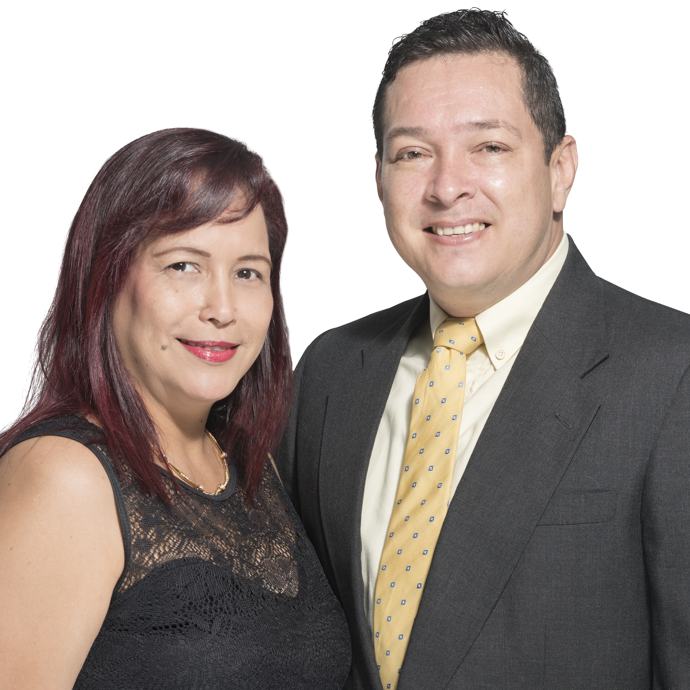 Edwin y Lorena Cañón